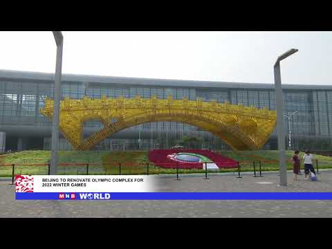The Beijing National Stadium renovation for the 2022 Winter Olympics