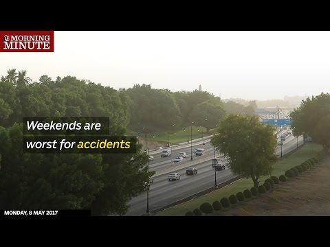 Weekends are worst for accidents in Oman