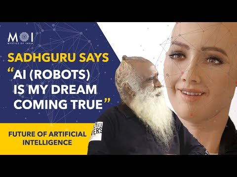 Sadhguru Says Artificial Intelligence Is My Dream Coming True #youthandtruth @NID | Mystics of India