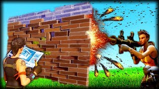 WALL KILL CHALLENGE! - Fortnite Funny Gameplay Moments and Fails