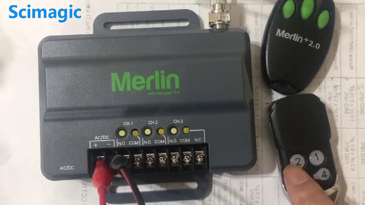 Merlin+2 0 Merlin E945 Remote Control Melrin E950, E943