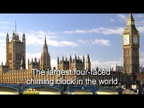 Big Ben Chimes ~ The Palace of Westminster : London STRIKES 12