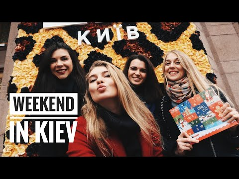Gastronomy tour in KIEV 🇺🇦| Weekend in UKRAINE