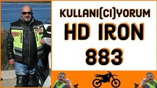 Harley-Davidson Iron 883 Kullanıyorum, Kullanıcı-yorum #iron883