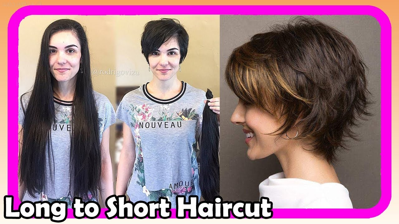 Beautiful Long To Short Pixie Haircut Women 15 Extreme Hair