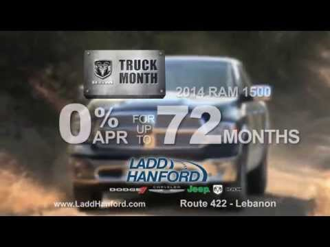 Ladd-Hanford Ram 0% for 72 months.