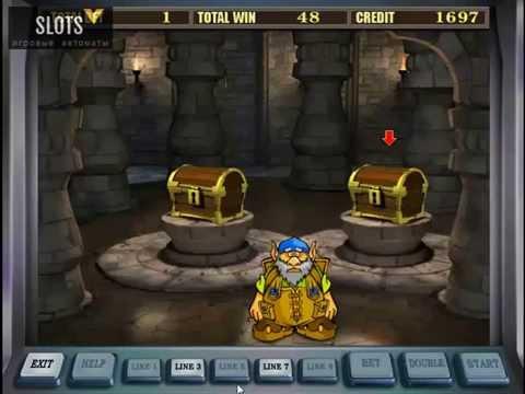 Бонус-игра в игровом автомате Гном (Gnome)