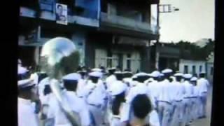 Dionisio MG Festa Rosario 1990 Coorporação musical Dionisiana Maestro Domingos Assis Oliveira.wmv