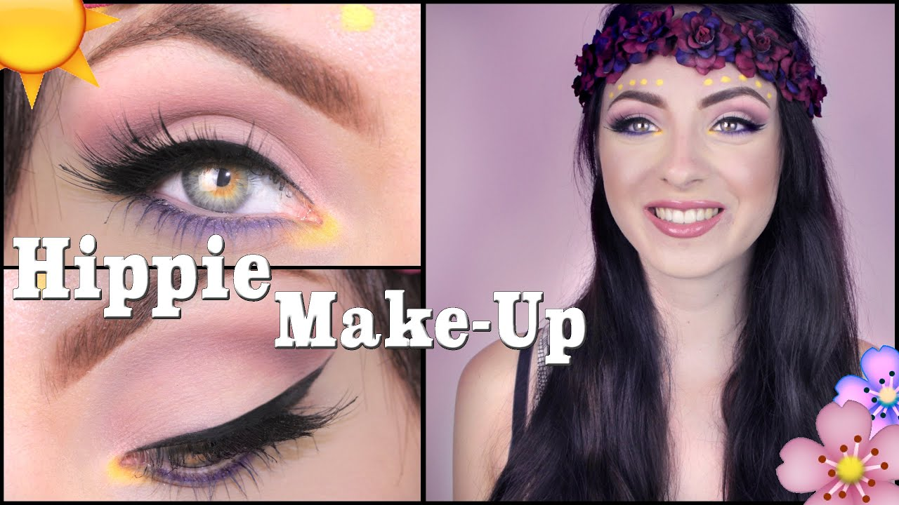 Hippie I Festival Make Up Tutorial Deutsch Verlosung I Hannah