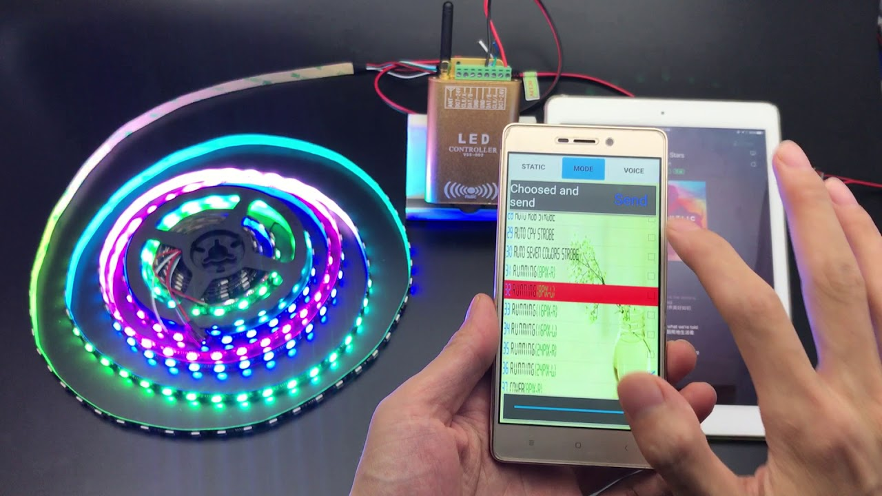 How to use led wifi dream color controller control ws2811 led strip how to use led wifi dream color controller control ws2811 led strip lights mozeypictures Image collections