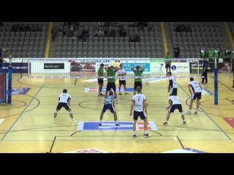 (Steven Marshall #10 White) German Bundesliga 2015/2016 Luneburg(2) vs Cobourg(3)