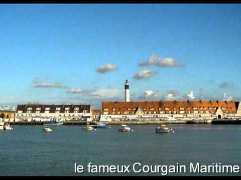 Le port de Calais en 2005, sa station SNSM et le ponton du Canot Notre Dame du Risban