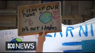 Students strike for climate change, defying calls to stay in school | ABC News