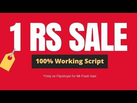 100% Working Trick to Buy Mi 1Rs sale Products.