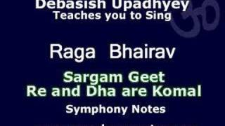 Free Vocal Lesson - Raga Bhairav