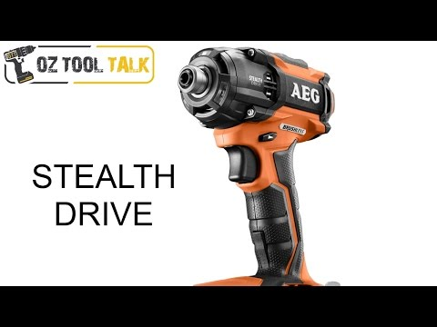 AEG Stealth Drive - 18V Brushless Oil Pulse Driver (Ridgid)