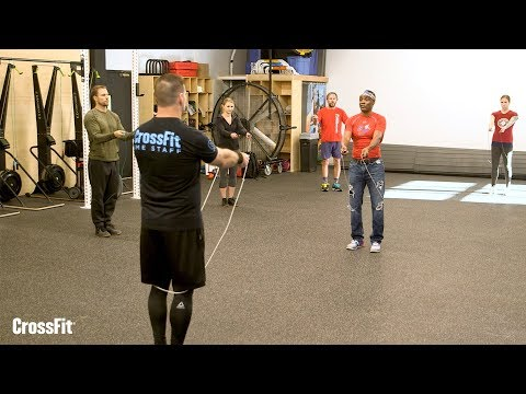 CrossFit Workshop: Jump Rope - Drilling the Rope Swing