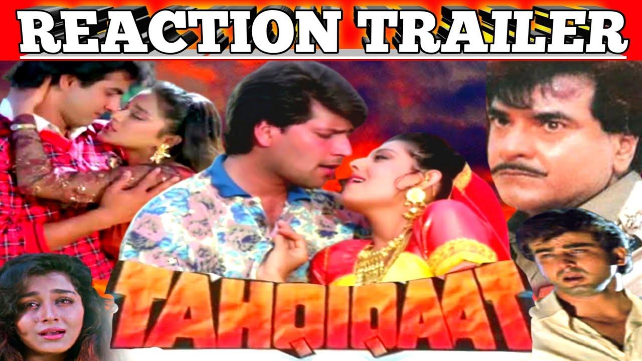 Download Tahqiqaat 1993 Reaction Trailer Action And Drama Jeetendra/Aditya Pancholi/Ronit Roy/Farheen