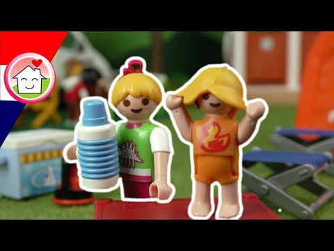 playmobil filmpje nederlands kamperen met de familie huizer