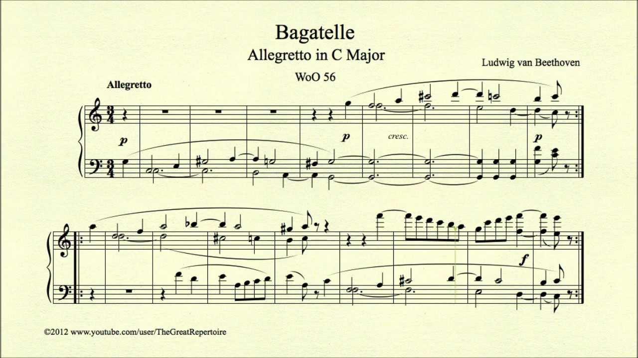 Beethoven Bagatelles
