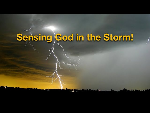 Sensing God in the Storm + Parking Lot Dedication - Bishop Gary Lewis 08/16/20