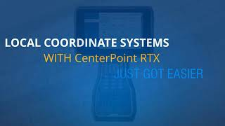 Trimble Access Tech Tips #7 - CenterPoint RTX