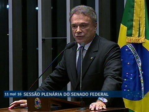 Para Alvaro Dias, sustituição de Dilma 'é a esperança de um futuro melhor para este país'