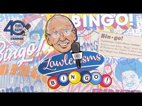"Ralph Lawler Explains The Origins of ""Bingo!"" | Lawlerisms"