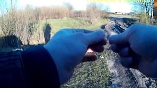 опасная рыбалка(В очередной поездке на рыбалку, в этом видео, я хочу рассказать о мерах безопасности. Меняя точки и места..., 2016-04-28T19:22:07.000Z)