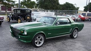 Voitures americaines chez Sylc Export | 1966 Ford Mustang Coupe