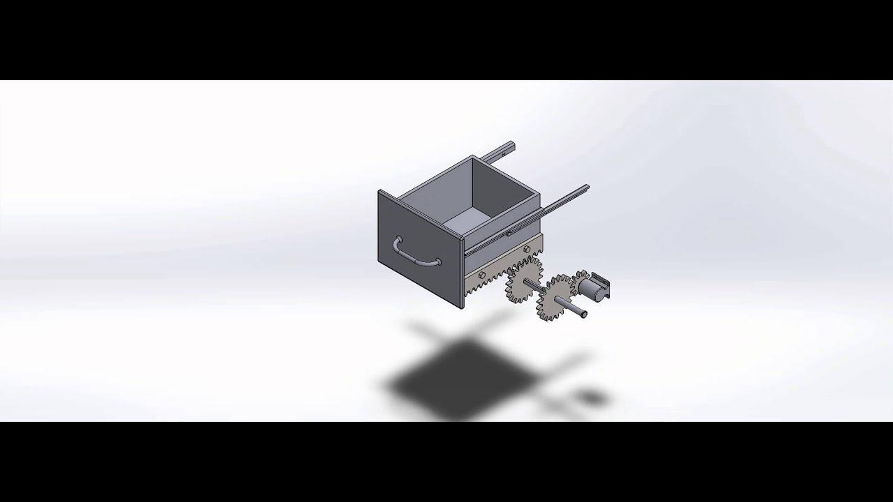 Motorized Drawer Youtube