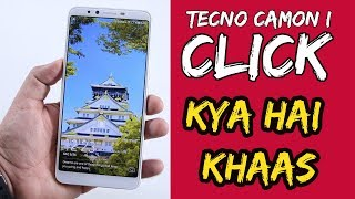 Tecno Camon I Click Unboxing & First Look