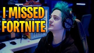 NINJA EXPLAINS WHY HE DOESN'T PLAY FORTNITE ANYMORE! (Fortnite Stream Highlights)