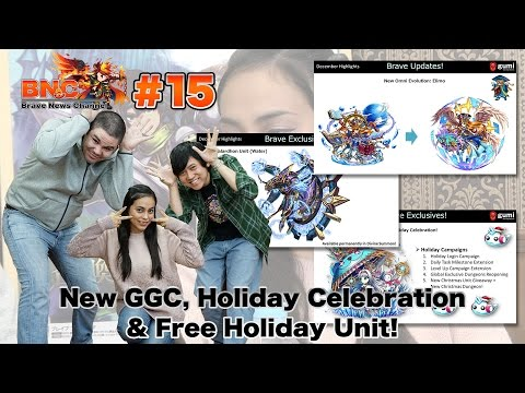 【ブレフロ】: New GGC, Holiday Celebration & Free Holiday Unit!【BNC】#15