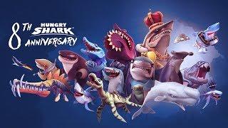 8th Year Anniversary & New Update 2018 (Pet Chris) - Hungry Shark World