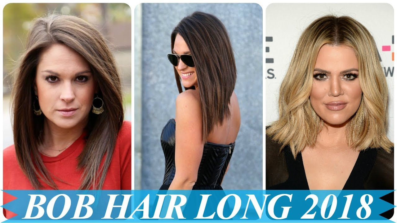 Popular Bob Haircut For Long Hair 2018 Youtube