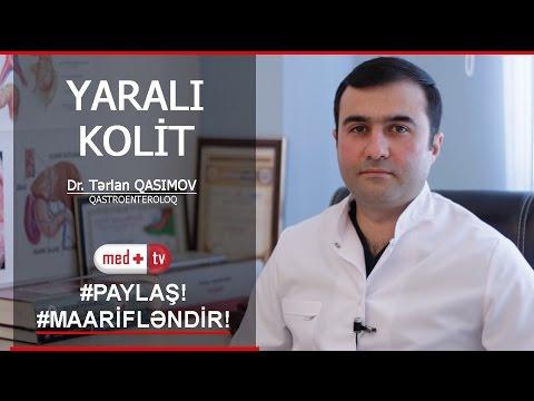 YARALI KOLIT DR TERLAN QASIMOV QASTROENTEROLOQMEDPLUS TV