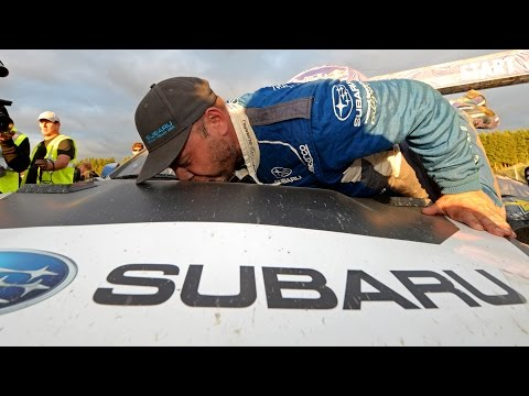 Victory For Subaru And Sverre Isachsen At Red Bull Global Rallycross Seattle 2014