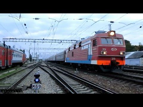 ЭП1-351 с поездом Новокузнецк - Анапа