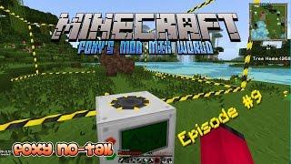 Minecraft - Foxy's Mod Mix [9] - Building a Quarry