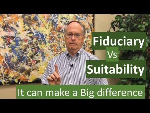 Fiduciary vs Suitability