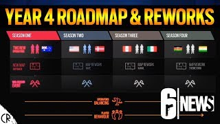 Y4 Roadmap & Op Reworks - 6News Live - Tom Clancy's Rainbow Six Siege
