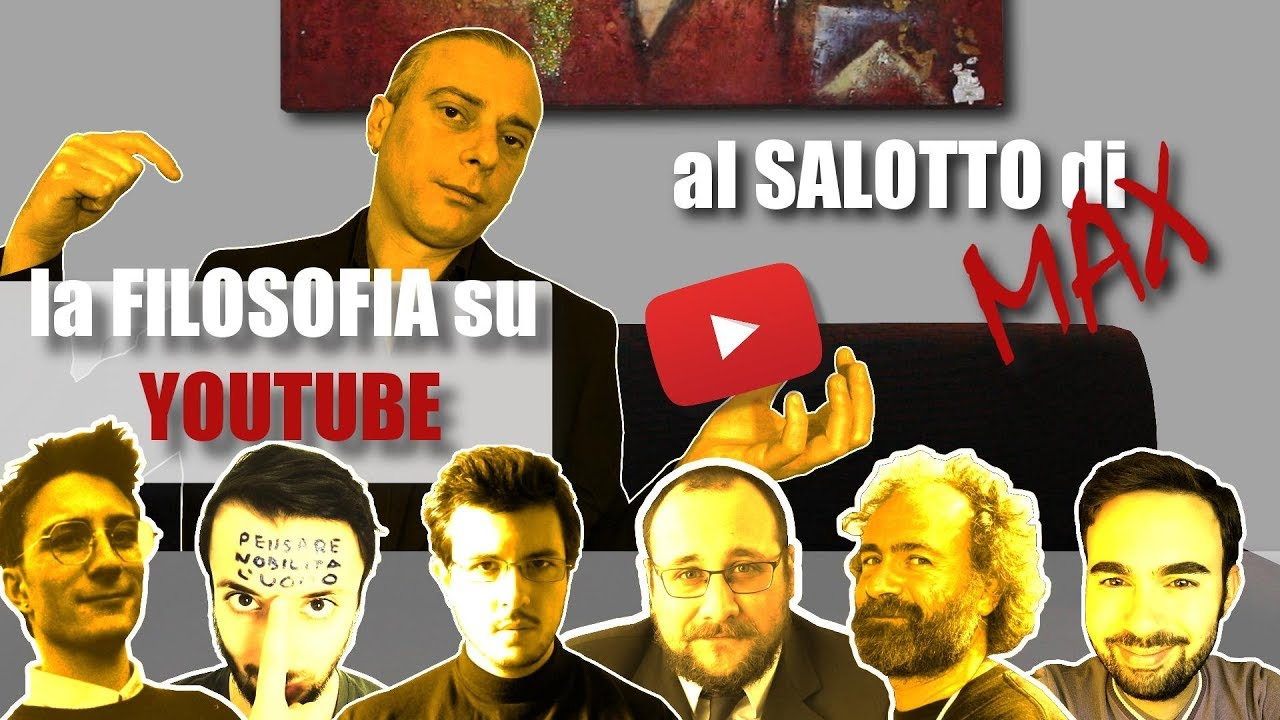 Download Filosofia su youtube Matteo Saudino Barbasophia Antimaterialista Dottor SadRay MrNichilista Andreani