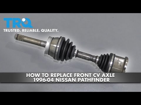 How To Replace Front CV Axle 96-04 Nissan Pathfinder