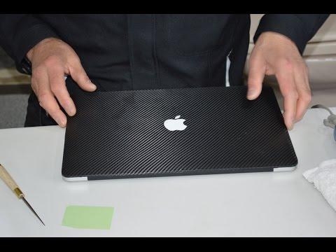 ダイノックシートを使ったMacBookデコレーション