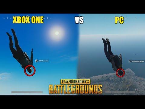 PUBG - VERSIÓN DE  XBOX ONE VS PC COMPARACIÓN GRÁFICA IMPRESIONANTE | PlayerUnknown's Battlegrounds