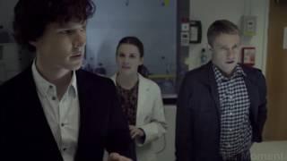 Доктор Ватсон знакомится с Шерлоком  Сериал Шерлок