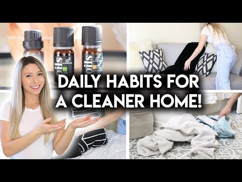 10 DAILY HABITS FOR KEEPING A CLEAN HOME | CLEAN WITH ME