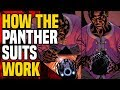 Black Panther Suits And Armors ( How They Work )