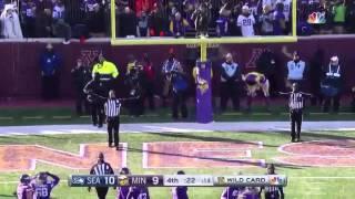 Blair Walsh misses game winning Field Goal, Seahawks advance